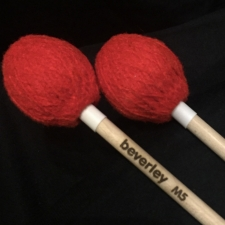 Beverley M5 Marimba Mallets with Maple Handles (Soft Tone)