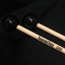 Beverley OS1 Glockenspiel Mallets with Rattan Handles (Very Bright Tone)