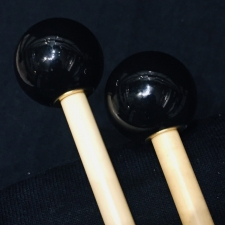 Beverley OS1S Glockenspiel Mallets with Rattan Handles (Very Bright Tone)