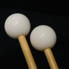 Beverley OS2 Glockenspiel Mallets with Rattan Handles (Bright Tone)