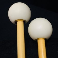 Beverley OS2S Glockenspiel Mallets with Rattan Handles (Bright Tone)