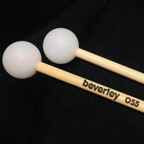Beverley OS5 Xylophone Mallets with Rattan Handles (Medium Tone)