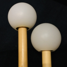 Beverley OS5S Xylophone Mallets with Rattan Handles (Medium Tone)