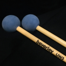 Beverley UW3 Multi-purpose Unwound Mallets with Rattan Handles (Medium Soft Tone)