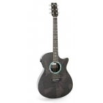 RainSong BI-OM1000N2 Black Ice Graphite OM Electro Acoustic Guitar