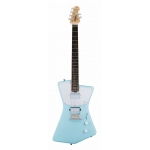 Sterling by Music Man St Vincent HH Model Electric Guitar in Daphne Blue