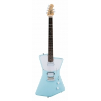 Sterling by Music Man St. Vincent HH Model, Daphne Blue