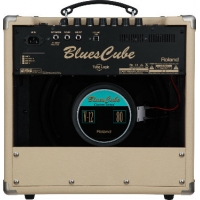 """Roland Blues Cube Hot Guitar Combo Amp in Vintage Blonde (30W, 1x12"""")"""