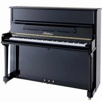 Bluthner Model A Upright Piano in Polished Black (Other Finishes Available)