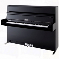 Bluthner Model D Upright Piano in Polished Black (Other Finishes Available)