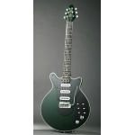 Brian May Red Special Signature Guitar in Green with Padded Gig Bag