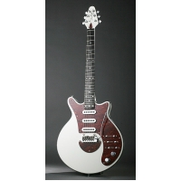 Brian May Red Special Signature Guitar in White with Padded Gig Bag
