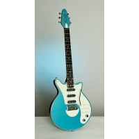 Brian May Red Special Signature Guitar in Windermere Blue with Padded Gig Bag