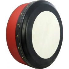 "Glenluce Kilrush 16"" Tunable Professional Bodhran in Red, (16018R)"