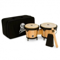 LP Aspire Bongo Kit, Natural/Black