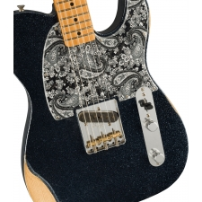 Fender Brad Paisley Esquire, Black Sparkle