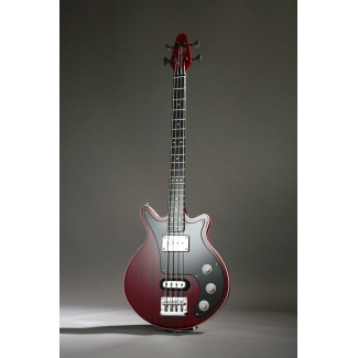 Brian May Bass Guitar in Cherry with Padded Gig Bag
