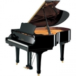 Yamaha C2M SIlent Grand C2SG Piano in Black Polyester