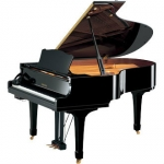 Yamaha C3M SIlent Grand C3SG Piano in Black Polyester