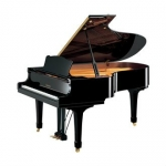 Yamaha C5M  Grand Piano in Black Polyester