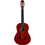 Westcoast Student 4/4 Classical Guitar In Red