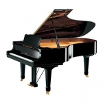 Yamaha C7M  Grand Piano in Black Polyester