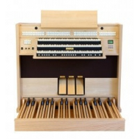 Viscount Cadet Compact 42 Classical Organ In Simulated Wood Veneer