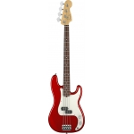 Fender Standard Precision Bass, Candy Apple Red, Pau Ferro