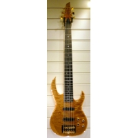 Carvin USA Custom Thru Neck 6 String Bass, Flame Maple