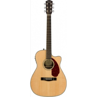 Fender CC140SCE Electro-Acoustic Guitar, Natural
