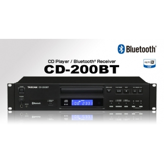 Tascam CD200BT CD Player/Bluetooth Receiver