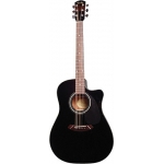 Fender CD60CE Electro Acoustic Guitar in Black