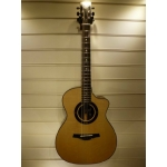 Patrick James Eggle Linville Cutaway Electro Acoustic Guitar With Hiscox Case