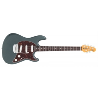 Music Man American Cutlass SSS Electric Guitar in Charcoal Frost