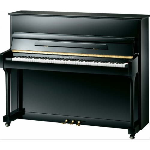 Charles Howes & Son Coniston Upright UP118 Piano in Polished Black