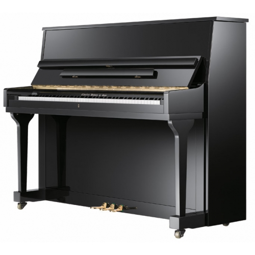 Charles Howes & Son Derwent UP115M2 Upright Piano in Polished Black