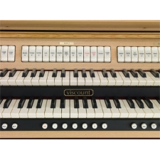 Viscount Chorum 40 Organ With 30 Note Pedalboard & Bench