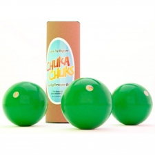 Chuka Chuks Percussion Juggling Balls in Green (Priced as set of 3)