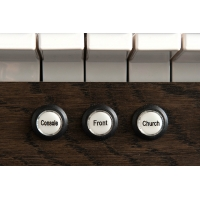 Content Clavis 125R Organ in Solid Wood & Matching Bench