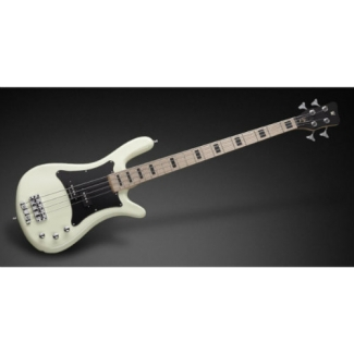Warwick Adam Clayton Artist Line Solid Creme White High Polish Fretted