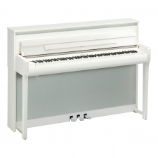 Yamaha CLP785 Clavinova Digital Piano in Polished White (CLP785PW)