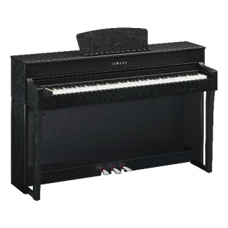 Yamaha CLP635 Clavinova Digital Piano, Black