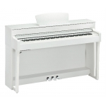 Yamaha CLP635 Clavinova Digital Piano, White