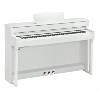 Yamaha CLP635 Clavinova Digital Piano in White (CLP635WH)