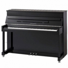 Collard & Collard U110 Small Compact Upright Piano in Black Polyester