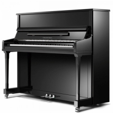 Collard & Collard U122 Professional Upright Piano in Black Polyester