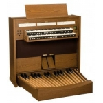 Viscount Cadet Compact 38D Classical Organ In Real Wood Veneer