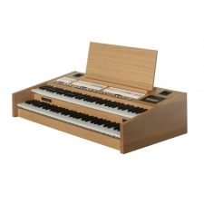 Content Compact 224 Intern Portable Organ in Light Oak (Manuals Only)