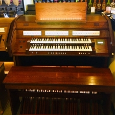 Content Celeste 236R Custom Organ in Old Dutch Finish