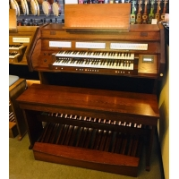 Content Celeste 236R Hybrid (Classical & Theatre) Custom Organ in Old Dutch Finish